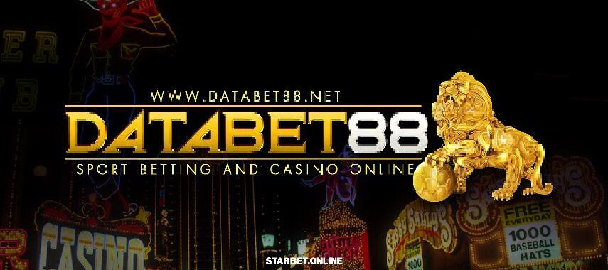 แทงบอล แทงบอลออนไลน์ เว็บ Databet88 พนัน ครบวงจร